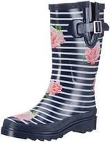 Beck Ladies Stripes Wellies,40 EU