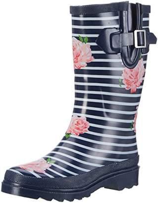 Beck Stripes, Women's Wellington Boots Wellington Boots, Blue (Dunkelblau 05), (37 EU)