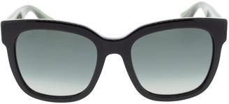 Gucci Metal Square Frame Sunglasses