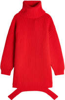 Balenciaga Deconstructed Virgin Wool Turtleneck Pullover