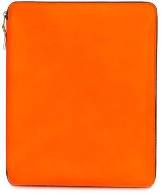 Comme des Garcons Colour-Block Zip-Up Wallet