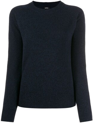 Aspesi relaxed-fit crew neck jumper