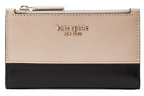 Kate Spade Small Spencer Leather Bi-Fold Wallet