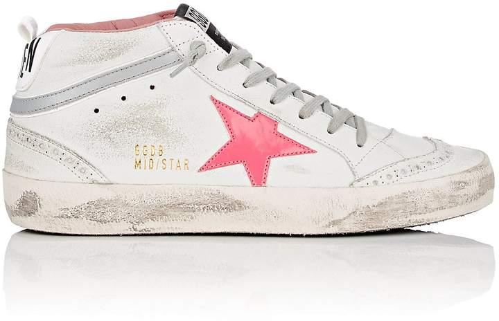 Golden Goose Women's Mid Star Leather Sneakers