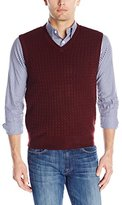Dockers Solid Cable Sweater Vest