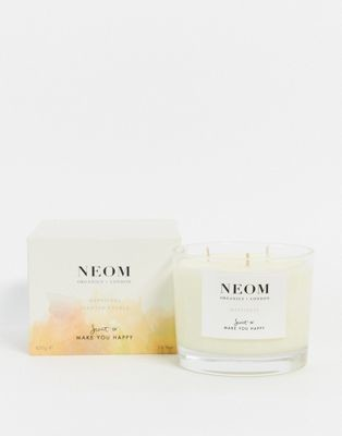 NEOM Happiness Neroli Mimosa and Lemon 3 Wick Scented Candle
