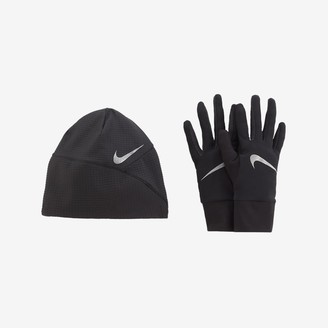 Nike Men's Running Hat and Glove Set Essential
