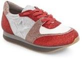 Stella McCartney Toddler Girl's Scarlet Star Glitter Sneakers