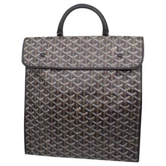 Goyard Steamer Black Cloth Travel bags