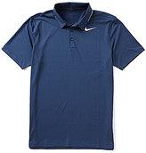 Nike Icon Elite Solid Short-Sleeve Polo Shirt