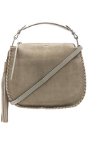 AllSaints Mori Hobo in Gray.