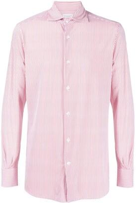 Glanshirt Striped Button-Up Shirt