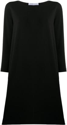 Harris Wharf London Short 3/4 Sleeves Dress