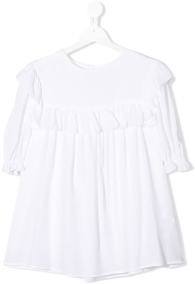 Dondup Kids TEEN ruffled blouse