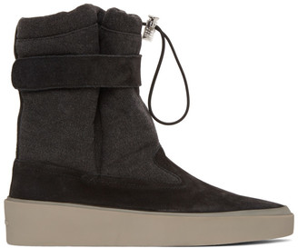 Fear Of God Black Ski Lounge Boots