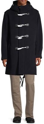 Rag & Bone Toggle Wool-Blend Coat