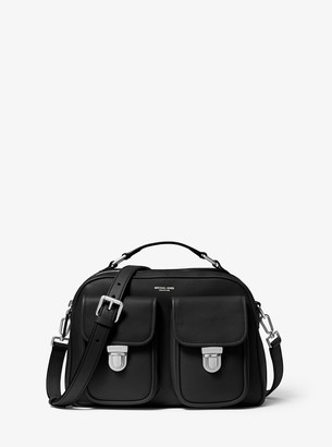Michael Kors Kennedy Calf Leather Camera Bag