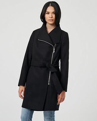 Le Château Cashmere-Like Open Collar Coat