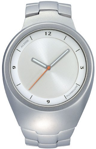 Alessi (アレッシー) - Alessiユニセックスal17000 Arc自動シルバートーンストラップ腕時計