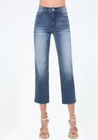 Bebe Straight Leg Crop Jeans