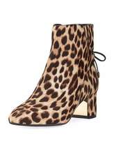 Tory Burch Laila Printed 50mm Bootie, Leopard