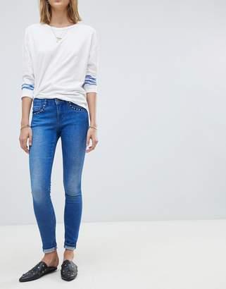 Maison Scotch La Parisienne Skinny Jeans-Blue