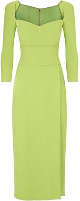 Dolce & Gabbana Fitted Long-Sleeve Midi Dress