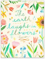 "GreenBox Art Murals That Stick ""The Earth Laughs in Flowers"" Wall Art"