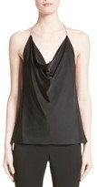 Cushnie et Ochs Women's Satin Cowl Neck Halter Top