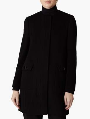 Jaeger Wool Collarless Coat