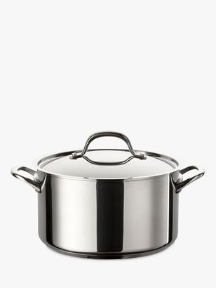 Circulon Ultimum Non-Stick Stainless Steel Stock Pot, 24cm