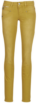 Freeman T. Porter Freeman T.Porter ALEXA SLIM NEW MAGIC COLOR women's Skinny Jeans in Yellow