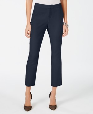 INC International Concepts Inc Cropped Straight-Leg Pants, Created for Macy's