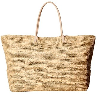 Hat Attack Chic Tote (Natural) Tote Handbags