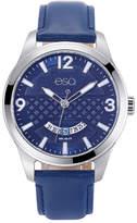 ESQ Mens Blue Strap Watch-37esq008301a