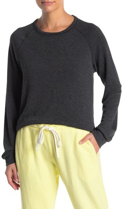X Project Social T Cutout Back Knit Pullover