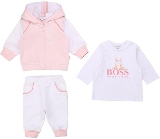 HUGO BOSS Toddler Girl Pink Outfits