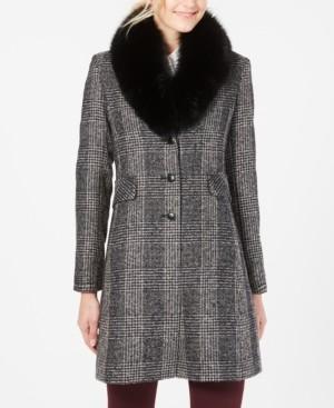 Forecaster Fox-Fur-Collar Reefer Coat