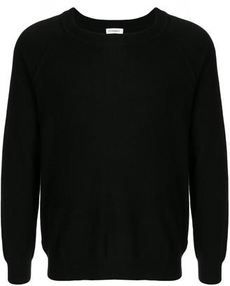 Venroy boat-neck fine knit jumper