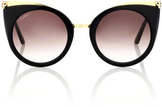 Cartier Eyewear Collection Panthere de Cartier cat-eye sunglasses