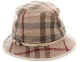 Burberry Wool House Check Hat