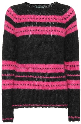 ALEXACHUNG Mohair and wool-blend sweater