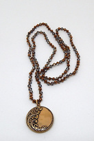 Beaucoup Designs Luxe Brown Necklace