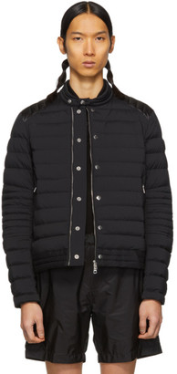 Moncler Black Down Barral Puffer Jacket