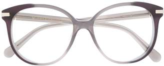 Marc Jacobs Eyewear oversized round frame glasses