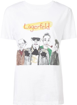 Unfortunate Portrait Lagerfeld T-shirt