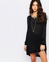 One Teaspoon Soho Wool Longsleeve Dress