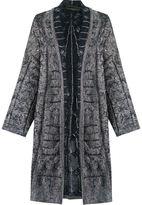 Cecilia Prado open front knitted cardi-coat