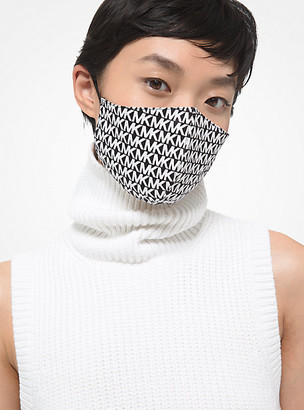 Michael Kors Logo Stretch Cotton Face Mask