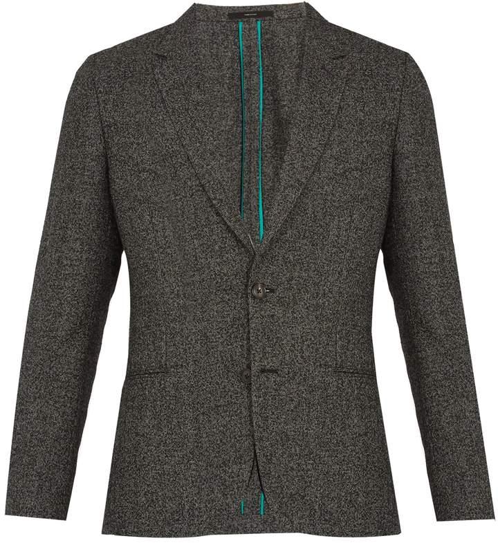 Paul Smith Notch-lapel wool-blend blazer